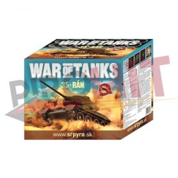 CLE4055 WAR OF TANKS 36mm 35s