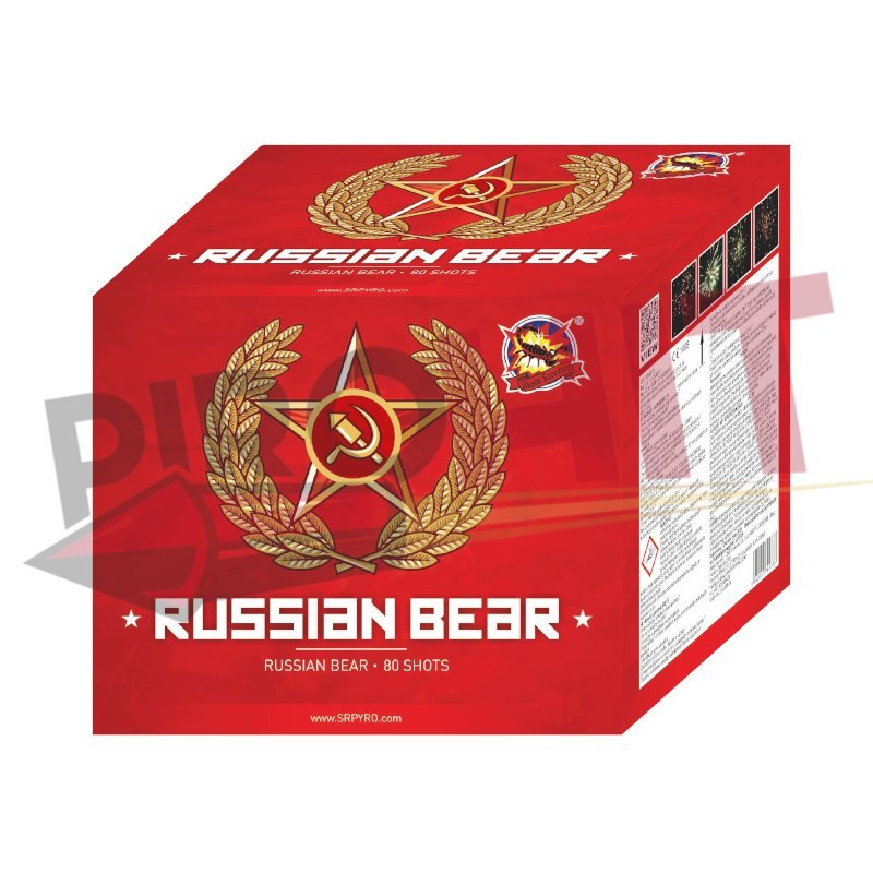 RUSSIAN BEAR CLE4077