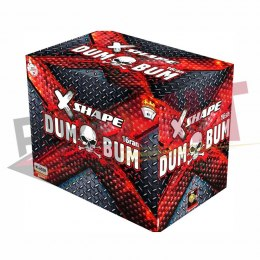 CX1620D - Dum Bum X-shape 16s 20mm 16/1 F2